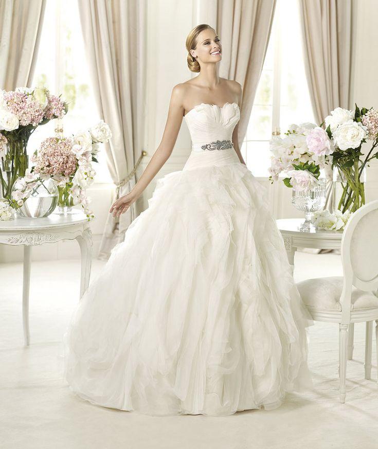 Simple Glamorous Pronovias Wedding Dresses Dreams Collection