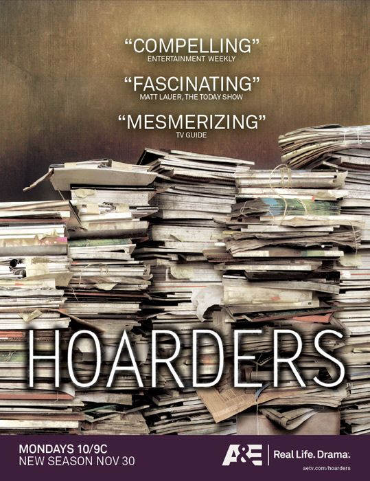 Hoarders..It is hard to image the filth and smells within these homes.  What a horrible disease.