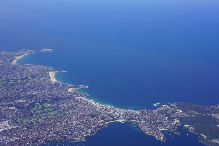 View over Manly beach | Virgin Australia