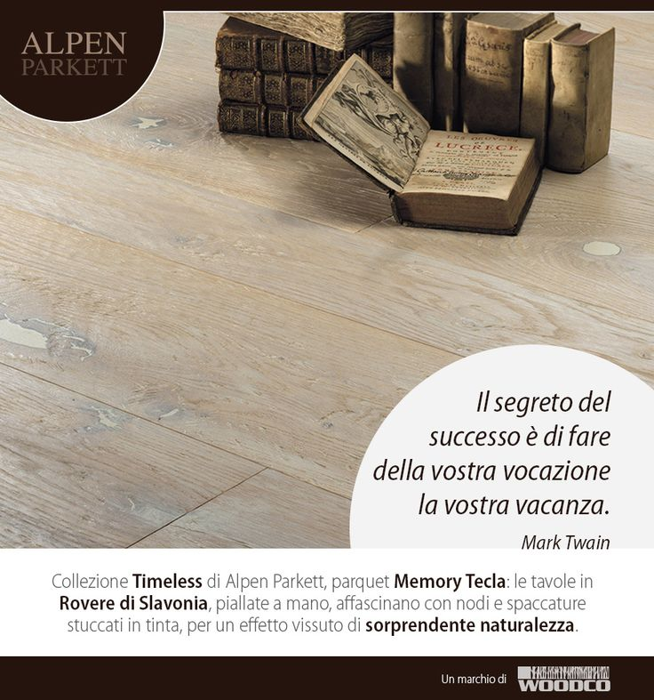 Parquet Memory Tecla - Collection Timeless by Alpen Parkett: a real lived effect thanks to knots and cracks of the wood