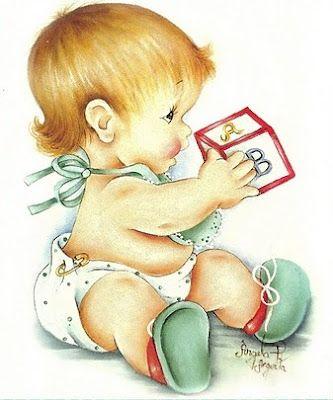 Bebê com dado