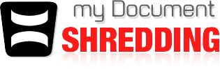 Paper shredding service company logo of document shredding of Boston Neighborhood Parcel here http://mydocumentshredding.net