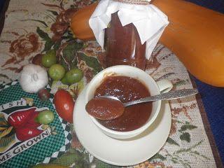 Odkrywam Pasję ......: Ketchup  z cukini polecam na jesienne dni.