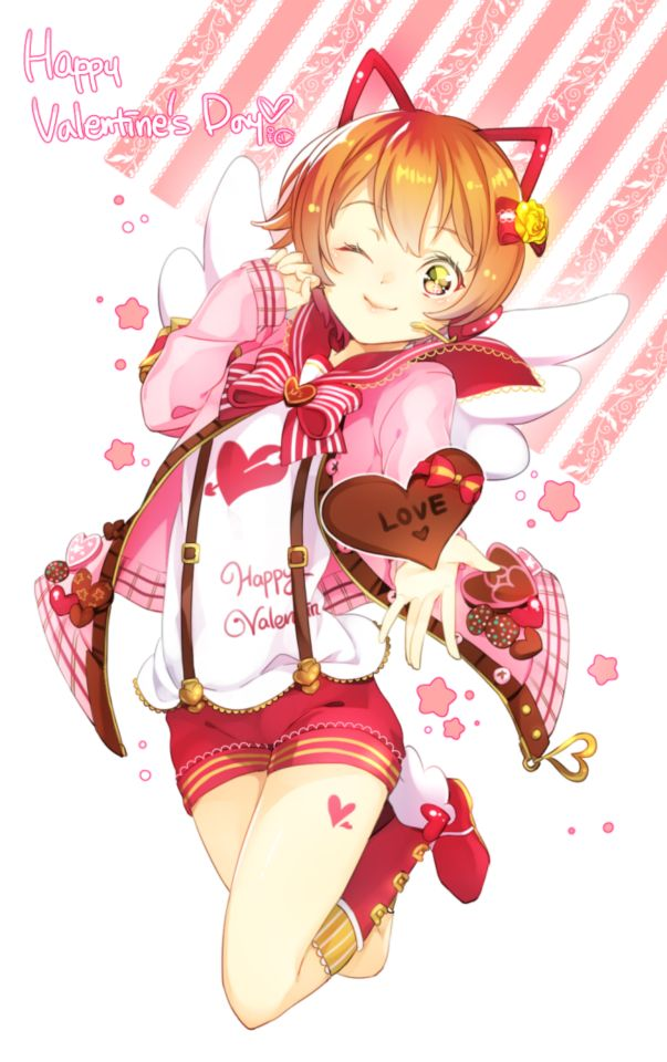 24 best valentine 39 s day anime images on pinterest anime - Happy valentines day anime ...