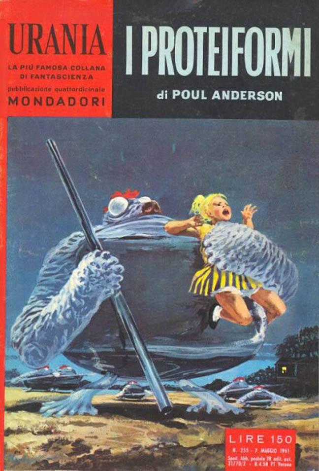 Urania #255 (1961-05-07) Arnoldo Mondadori Editore Karel Thole cover
