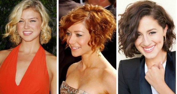 Kıvırcık bob kesim saç stilleri 2015 | Kadinveblog