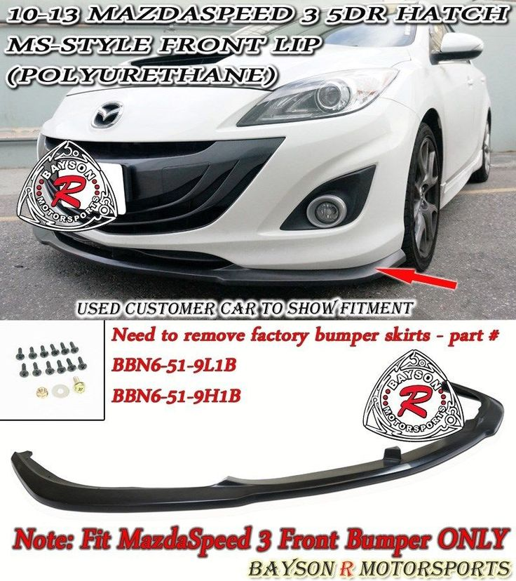 The 25 best mazda 3 hatch ideas on pinterest mazda 3 sport see more awesome amazing ms style front lip urethane fits 10 13 mazdaspeed 3 publicscrutiny Image collections
