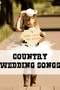 Country Wedding Music. Ahhh, I can only dream..... (my boo would NEVER go for this. Ever. Lol)