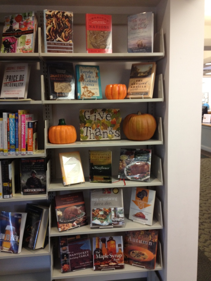 Decorating Ideas > 17 Best Images About DisplaysBulletin Boards On Pinterest  ~ 073412_Thanksgiving Library Decorations