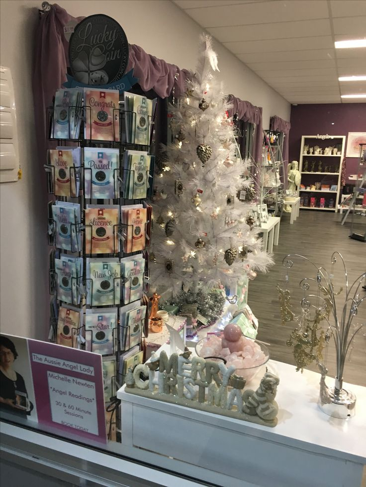 Christmas 2016: So delicate and elegant. White Christmas tree with cream, pink & brown tones. Loving the range of Rose Gold & White ornaments which are the in vogue Christmas decorating colours for this year. Select your favourites: Reindeer, Angels, Christmas Trees & Tea-light holders in small & large sizes. @AOKHealingCentre www.michellenewten.com