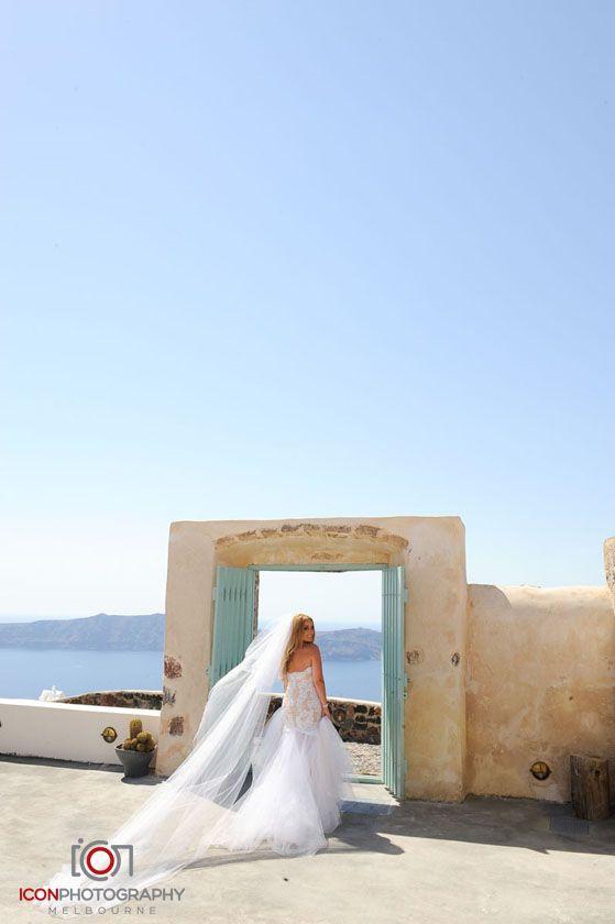 Doorway to Heaven! - Santorini Wedding Greece