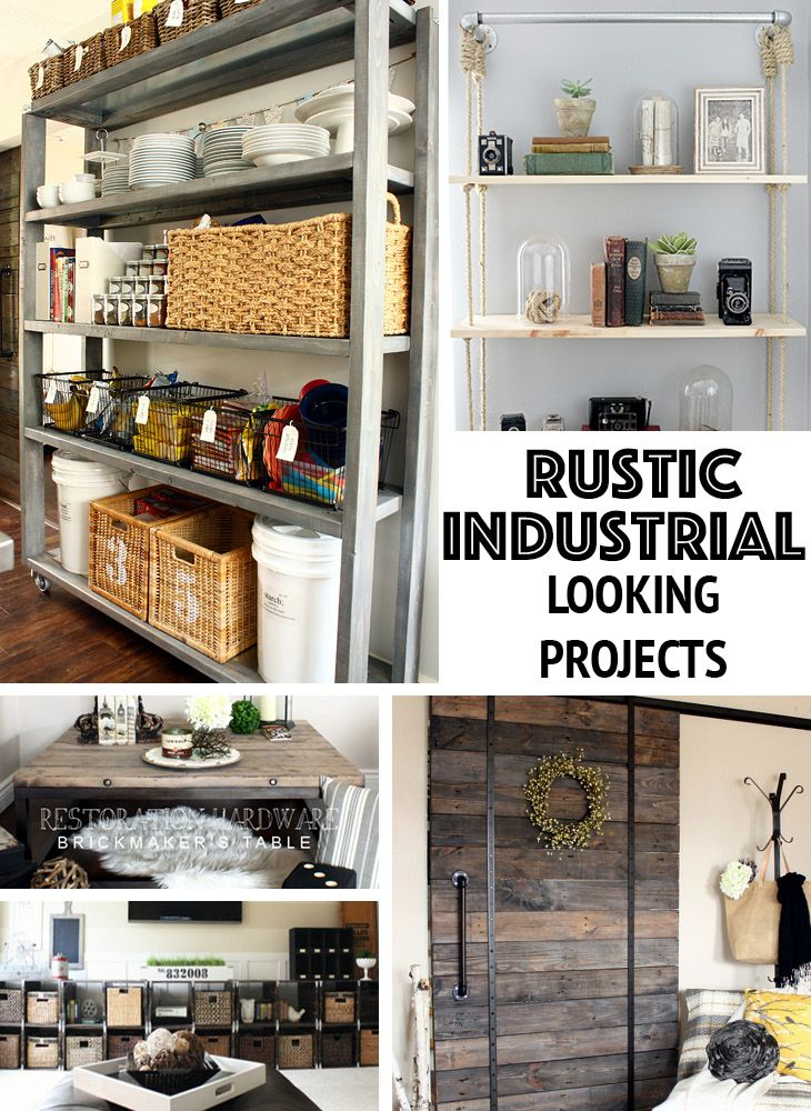 1000 images about diy furniture projects on pinterest for Industrial diy projects