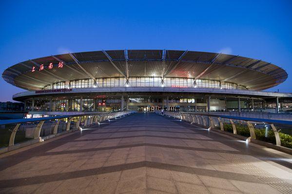 Estación de tren su, Shanghai, China. fotos de Arquitectura by Nicolás Santa María, via Behance