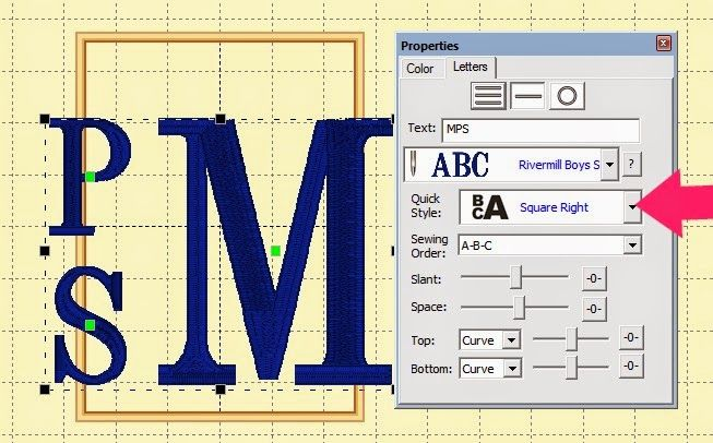 With Glittering Eyes: Stitching Monograms with Embrilliance Essentials