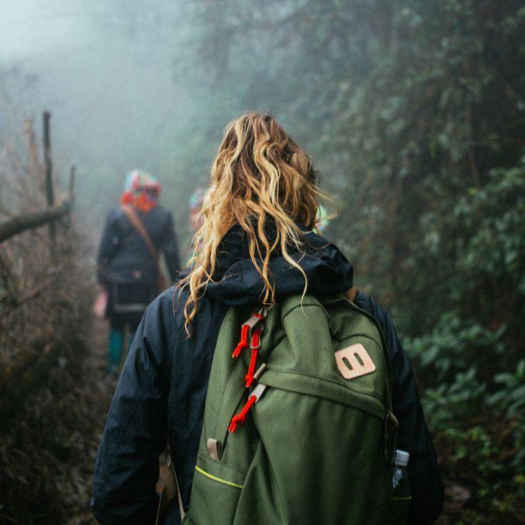 Topo Designs Daypack hiking through Villa de Leyva, Colombia with findingsalongtheway.com