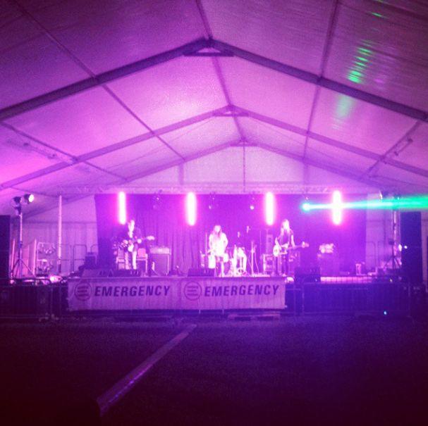 Be Forest soundcheck  Gasp Festival