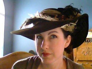 my fleur de paris hat!