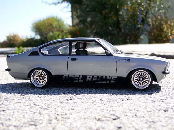 "Even until today, the Opel Kadett C is still a very popular ""customizing"" object. Makes it hard to find cars in original state. This is a very nicely done modification."