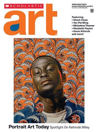 scholastic art portrait art today spotlight on kehinde. Black Bedroom Furniture Sets. Home Design Ideas