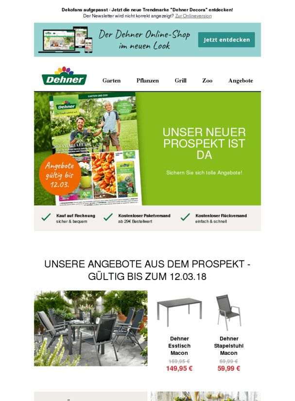 Unser Shop im neuen Look | Jetzt Prospekt-Angebote entdecken  ❙  #WohnenGarten  - https://deal-held.de/unser-shop-im-neuen-look-jetzt-prospekt-angebote-entdecken/