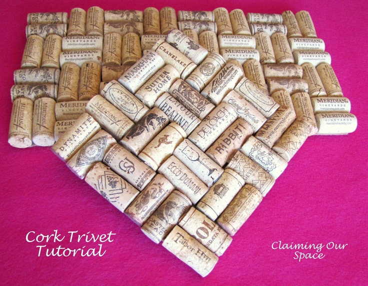 Another awesome cork trivet!