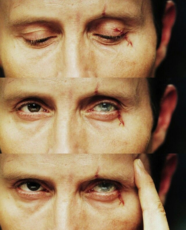 like this up close.  always had a strange fascination with Le Chiffre's bleeding eye.