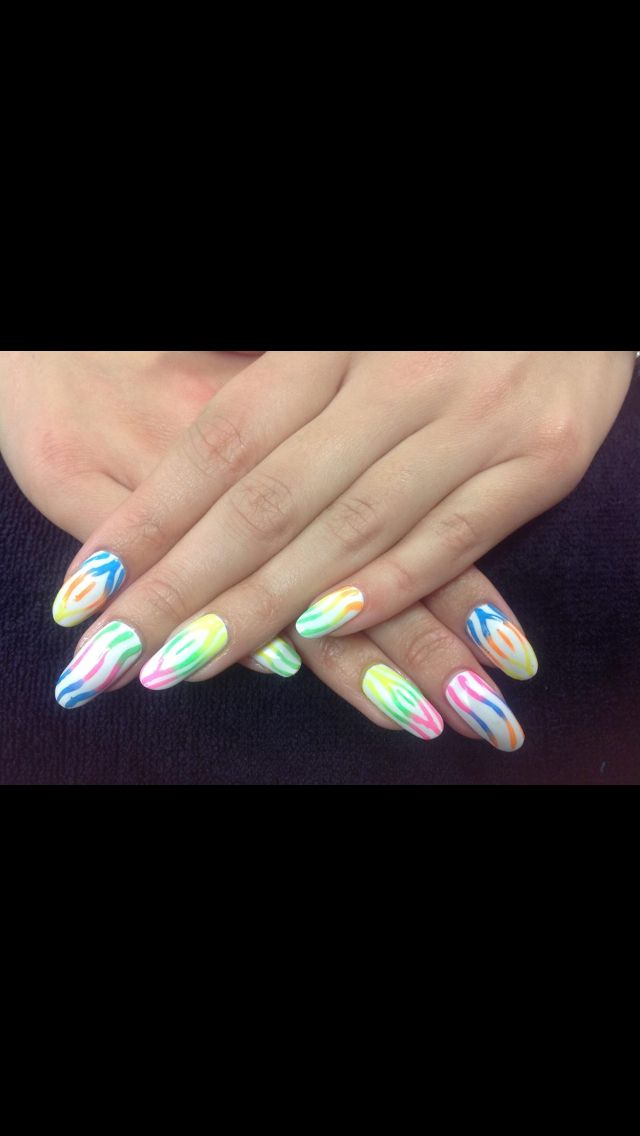 31dc2012 Day 10 Gradient Nails: Best 57 Rainbow Nails Inspirations Ideas On Pinterest