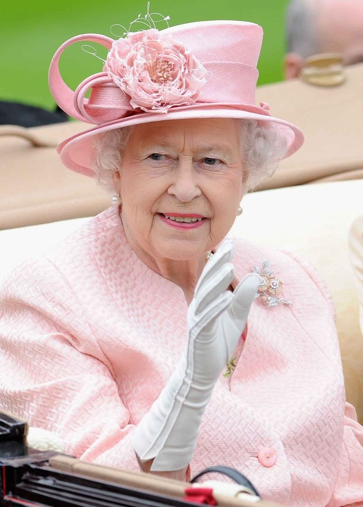 2013 Queen Elizabeth attends day one of Royal Ascot.
