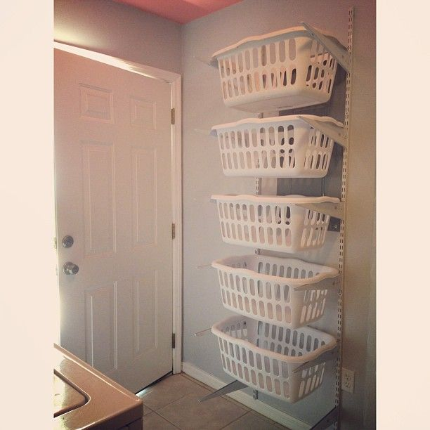 Supermom vs Me Blog- Laundry organizer. #laundry