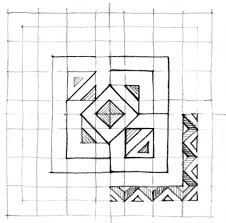 Resultado de imagen para dibujo en hoja cuadriculada