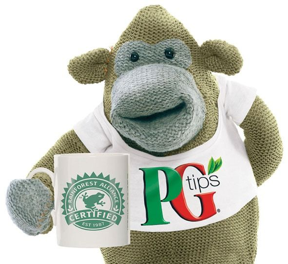 The PG Tips Monkey.  I really fancy a brew now…