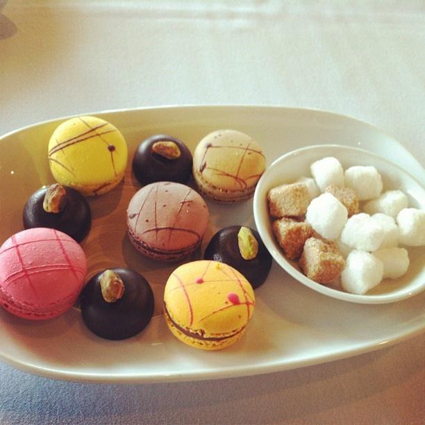 Post-dessert petit fours at Port Philip Estate.