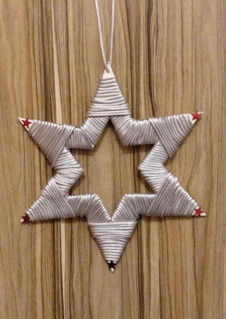 Christmas star door ornament