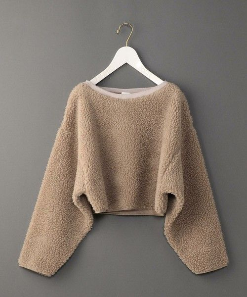 BEAUTY&YOUTH UNITED ARROWS 6(ROKU)  BOA BIG SLEEVE PULLOVER