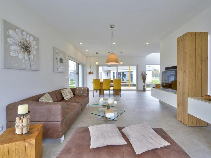 37 best Wohnbereich images on Pinterest Living room, Floor plans - wohnzimmer offen gestaltet