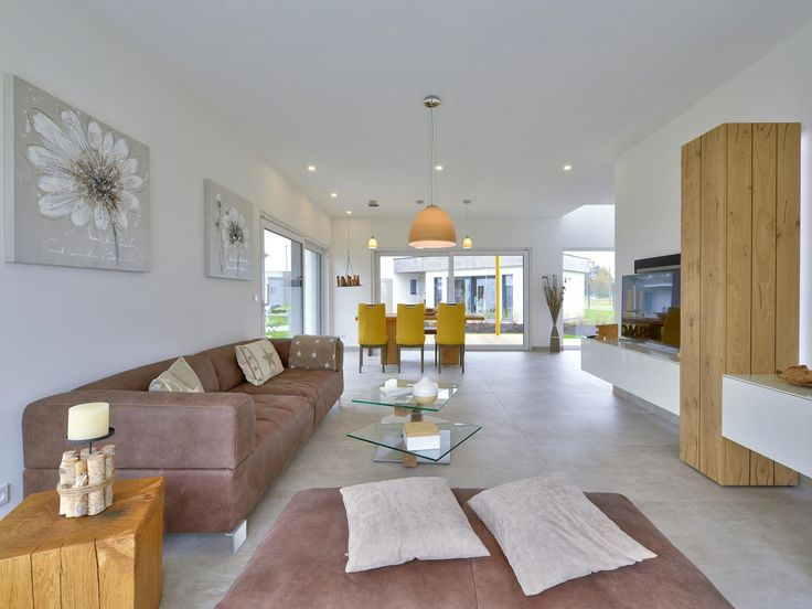 37 best Wohnbereich images on Pinterest Living room, Floor plans - gestreifte grne wnde