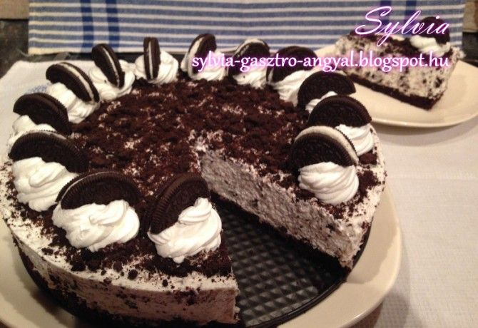 Oreo torta Sylva Gasztro Angyal konyhájából