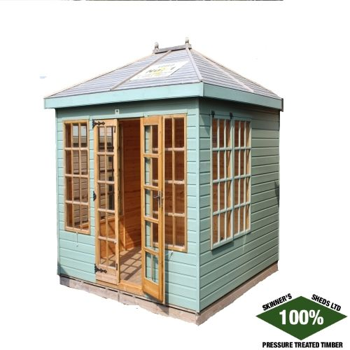 Square Belvoir by Skinners Sheds 1005 Pressure Treated | Free Delivery | Free Erection www.skinners-sheds.com