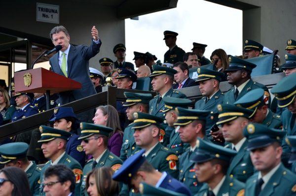 Cualquier beneficio en justicia transicional se extenderá a nuestras Fuerzas Militares, afirmó el Presidente Santos. #ProclamadelCauca