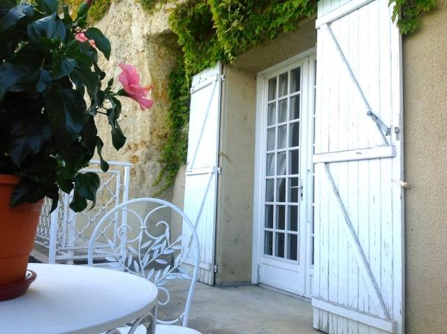 Ce gite troglodyte domine la vallée de la Loire, vous pourrez profiter du magnifique jardins des propriétaires mais également de la proximité de Tours, ville d'Arts et d'Histoire et cité internationale de la Gastronomie.