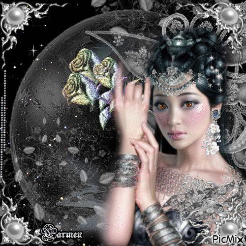 Ritratto donna asiatica