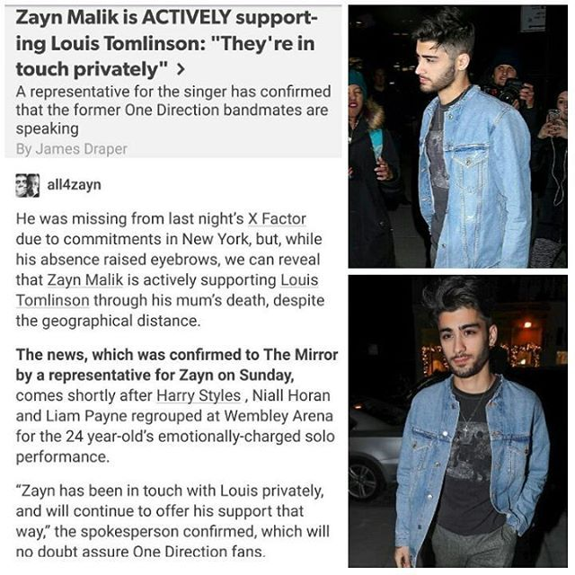 So it's confirm, Zayn was NOT at Wembley Stadium yesterday. He continues to remain in New York. & this article wasn't necessary tbh. Because we know he is very supportive of Louis...but you do you.