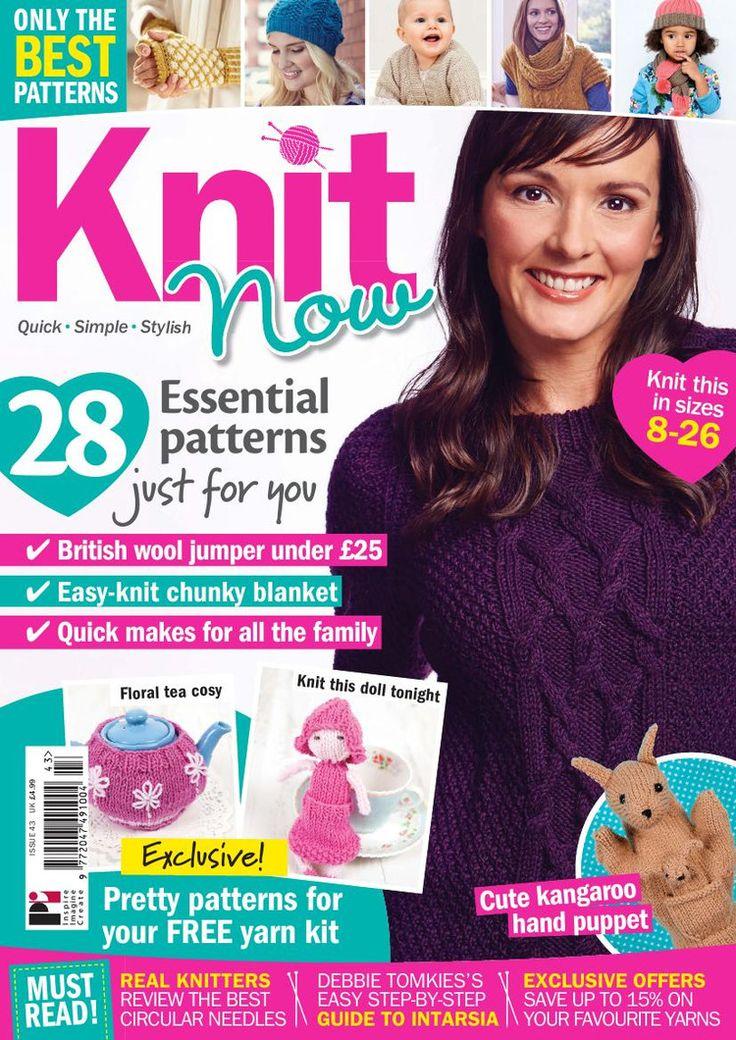 Knit Now Issue 43 2015 - 轻描淡写 - 轻描淡写