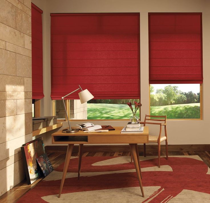 Look How Nice These Design Studio Roman Shades In This Office