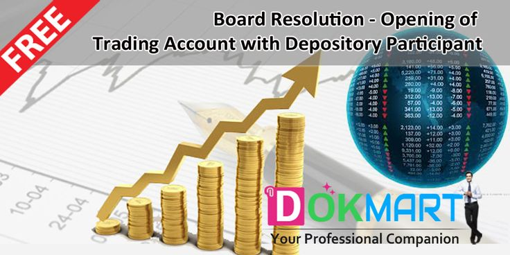 This document consist of draft Board resolution, for opening of de-mat trading account of the Company for the purpose of dealing in equities, derivatives and currency derivatives etc, along with Preamble in editable word format making it handy for you to use and save your time and efforts