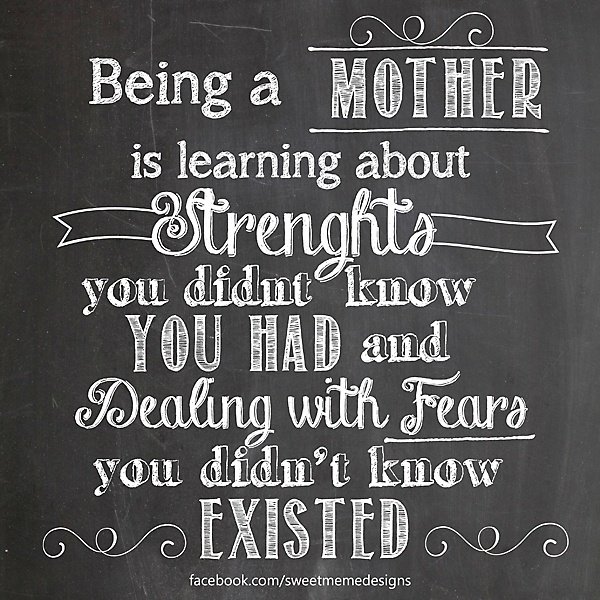 Strong Mother Quotes: Being Strong When Your Kids Are Hurting Is Hard. I Hate