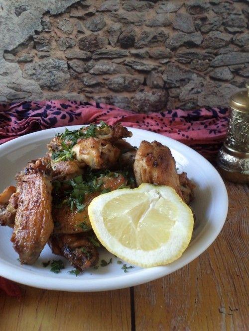 Libanoni grillezett csirkeszárny recept
