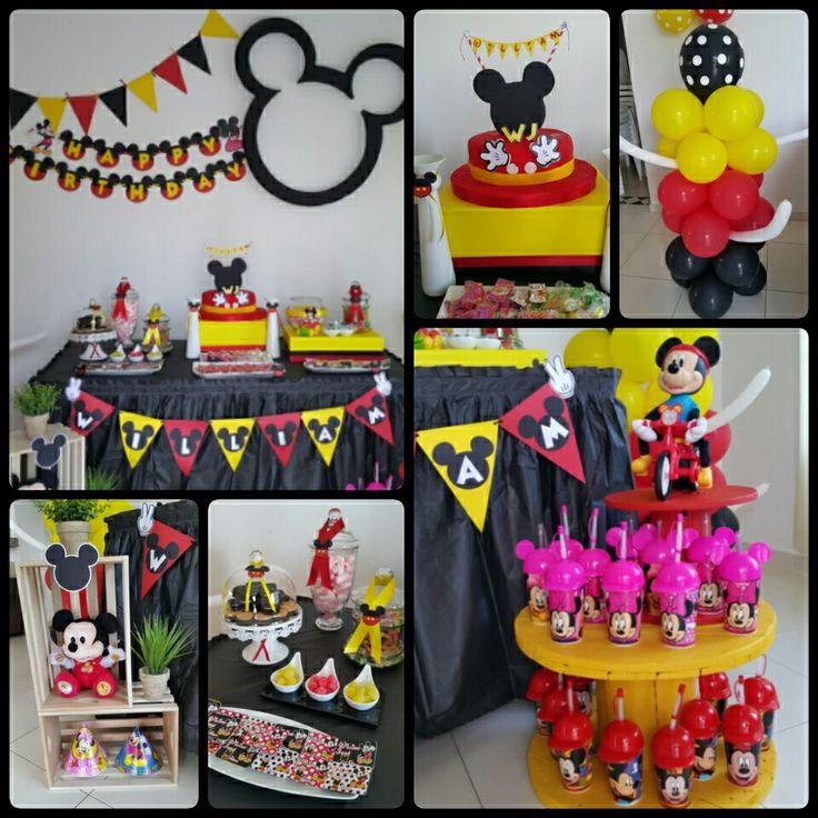 Decoración Mickey Mouse