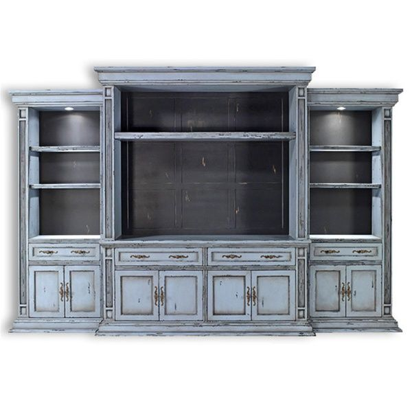 To paint or not to paint, that is the question.  Entertainment center. Wall cabinet, TV console.