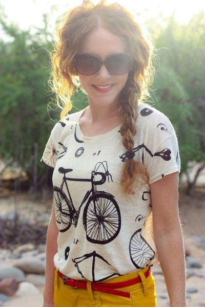 This bike shirt needs to be in my closet.